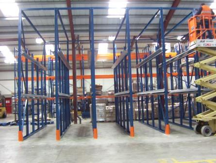 The First Pallet In Is Last Out Unless A Drive Through System Whereby Pallets Can Be Loaded Or Retrieved From Either Side Of Block